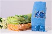 Махровые полотенца Актобе, Уральск 35х 75, 90г, цена:160тг изУрумчи Китай
