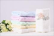 Махровые полотенца Караганда 35х 75,  90г,  цена:160тг из Урумчи китай